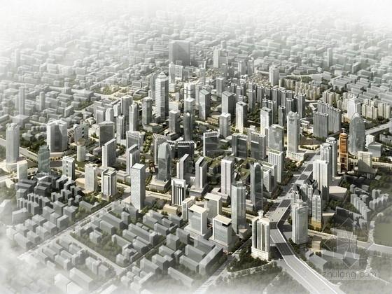 [山东]玻璃幕墙结构大型商业区规划及单体设计方案文本 (经典商业区规划设计,资料齐全)