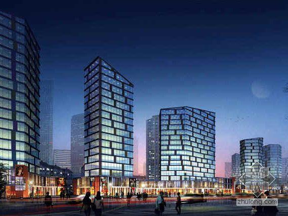 [乌鲁木齐]某北欧简约风格住宅区建筑设计分析