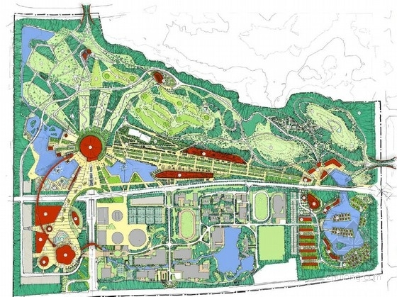 [武汉]主题公园景观规划设计方案