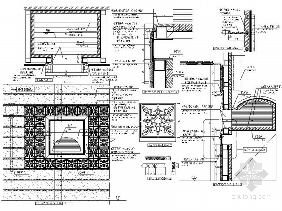 [北京]某豪华酒店意大利特色餐厅施工图-图6