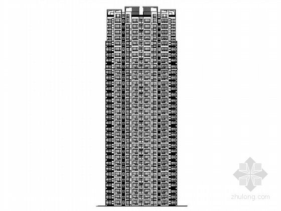 [安徽]现代风格98米高层安置区建筑施工图(共16栋建筑)