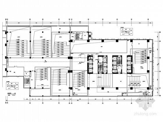 [武汉]一类高层建筑强电系统施工图纸(地下四层)
