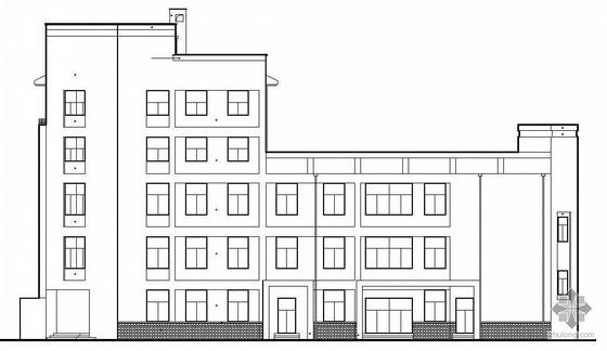 [江苏]某职业高级中学学校食堂建筑结构水电施工图