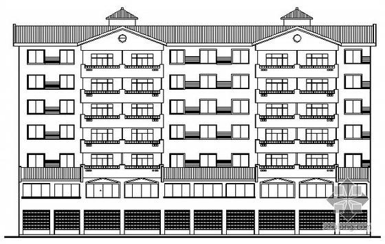 [绵阳市]某七层综合楼建筑施工图