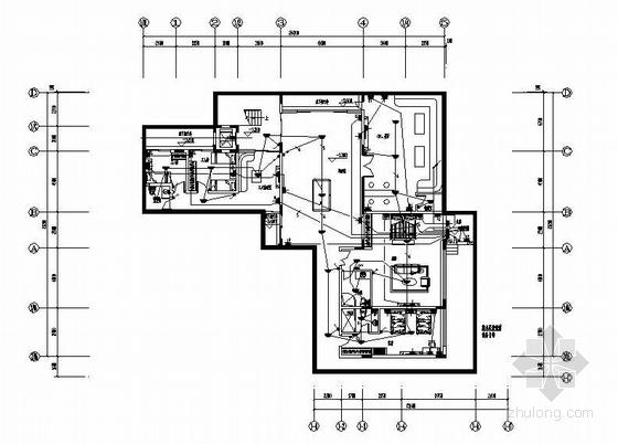 某二层半私人住宅楼电气图纸