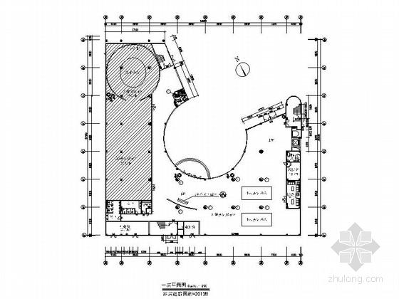 [东莞]某五层办公楼室内装修施工图