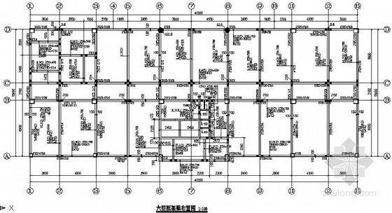 [安顺]7层框架办公楼结构设计图