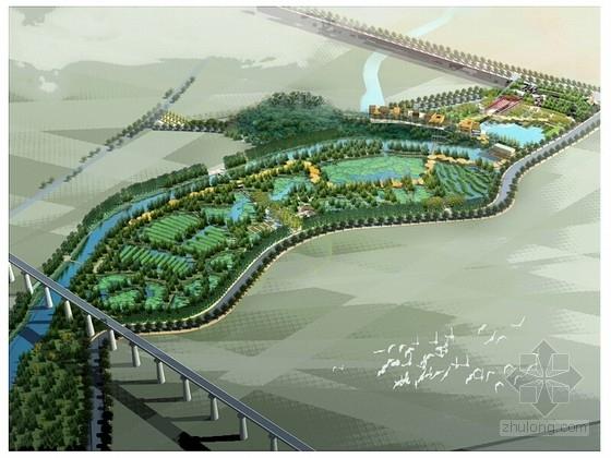 [武汉]运河公园景观规划设计方案(知名规划设计研究院)