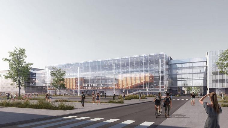 萨克雷大学新研究中心