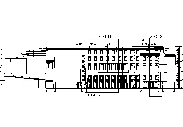 [西藏]高层假日酒店全套施工图(水暖电、结构及室内图纸)_5