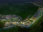 辽宁本溪钢铁深加工产业园城市设计