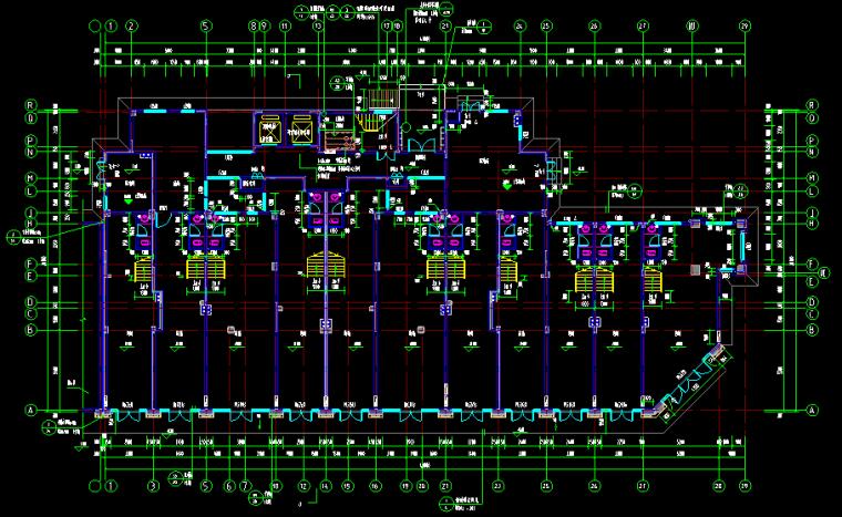 某商住楼建筑工程投标文件编制(含图纸工程量计算)