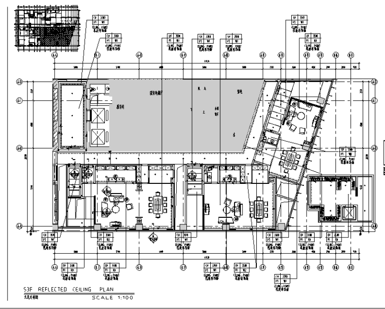 【重庆】110000平米酒店设计施工图(附效果图)_5