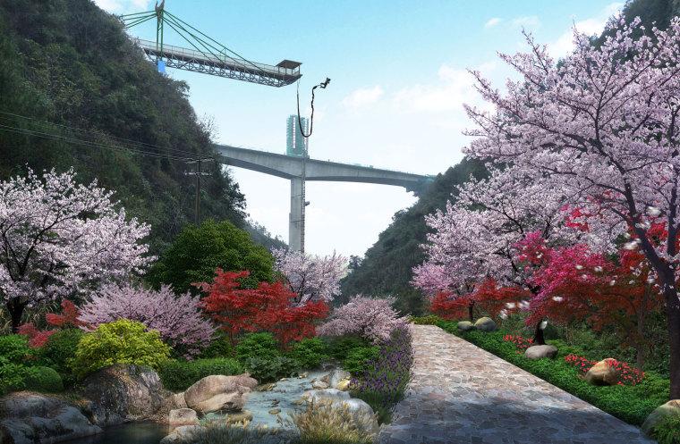 农旅景观:贵州云溪谷设计图_4