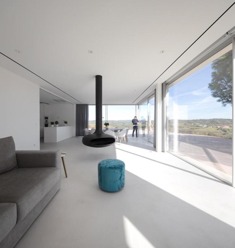 葡萄牙雕塑艺术般写意的住宅-1551071440711841