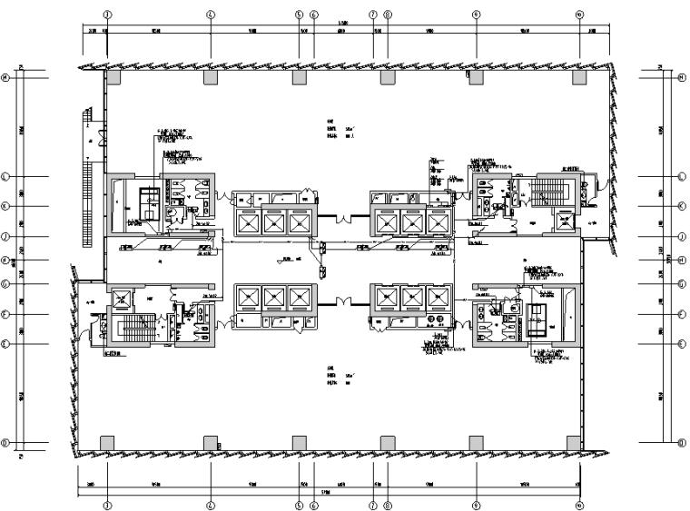 超高層物流中心電氣施工圖(含計算書)