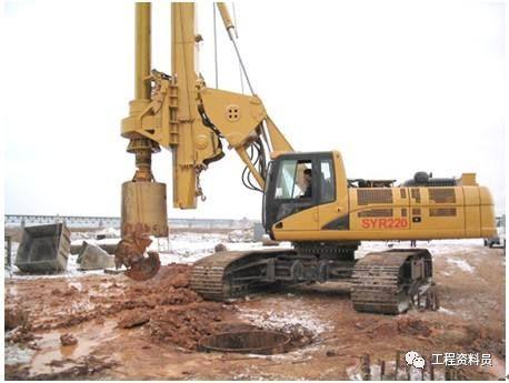 各种桩基础施工验收资料、基坑支护验收资料_4