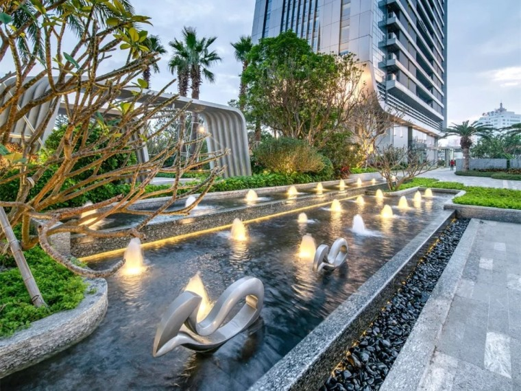 珠海仁恒洲际酒店景观