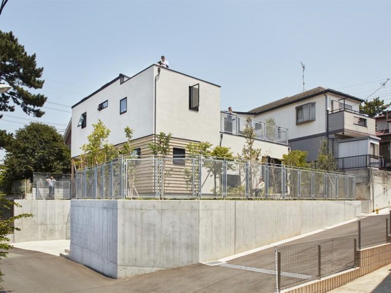 日本吊脚楼住宅