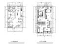 艺术SOHO|现代LOFT样板间设计施工图(附效果图)