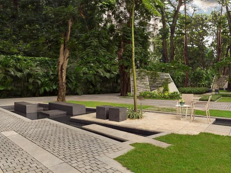 印度GODREJ住宅景观