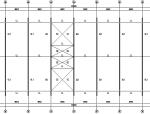 金太阳60米门式刚架工程(CAD,9张)
