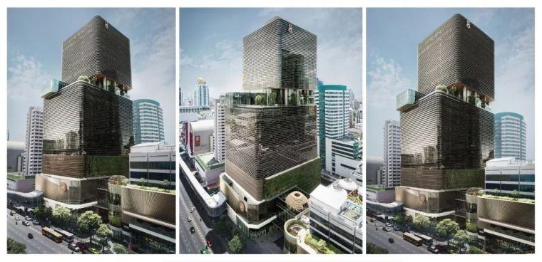 办公融合商业新形态的地标之作•曼谷Gaysorn II