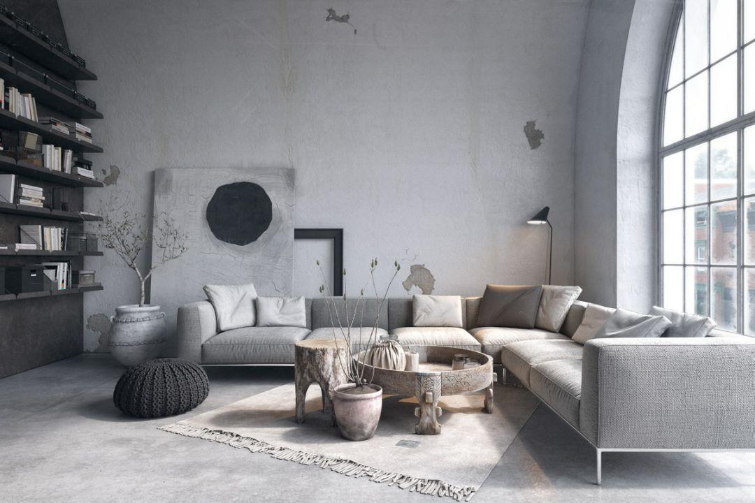 现在客厅都流行这么装,快扔掉你家笨重的大沙发吧!_2