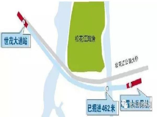 哈尔滨地铁2号线简析