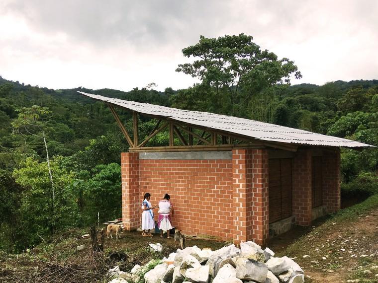墨西哥Tepetzintan村镇生产学校