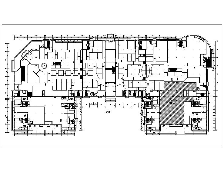 4套迪卡侬设计施工图(附效果图+设计手册)-总平面图