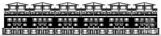 [北京珠江]某小区23号楼建筑结构水暖电施工图