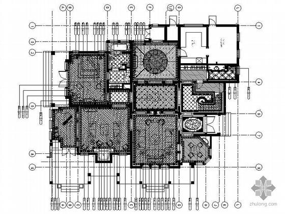 [上海]三层欧式豪华庄园别墅装修图(含效果)