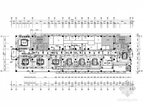 [江西]医院手术室净化工程全套设计施工图(洁净 装饰 医气 电气)