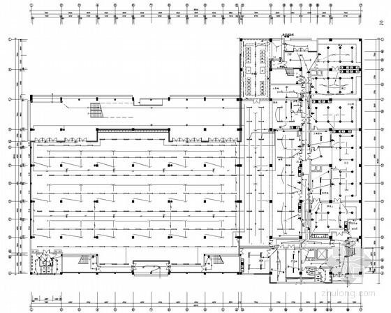 四层框架食堂高压配电系统设计图纸