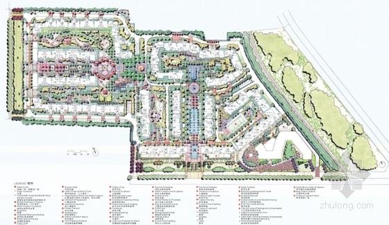 [成都]英式花园住宅小区景观设计方案