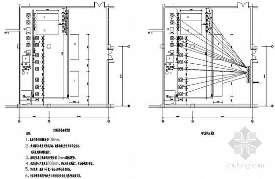 带热回收的地源热泵机房图纸