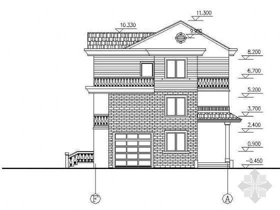 简单实用的新型农村住宅图纸
