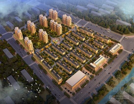 [浙江]6万平米安置小区建设工程施工招标投标文件(控制价投标报价CAD图纸)
