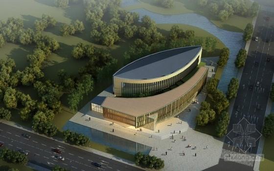 [成都]多层现代风格图书馆建筑设计方案文本(3个概念方案)