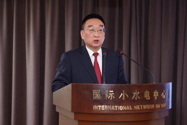 """陈雷第七届""""今日水电论坛""""发表讲话,积极倡导小水电发展"""