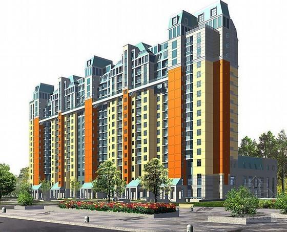 [吉林]大型房地产住宅楼工程项目申请报告(附图纸、投资估算表)