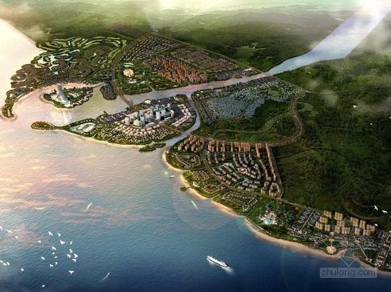 [海南]滨海城市概念性规划设计方案文本(知名设计院)