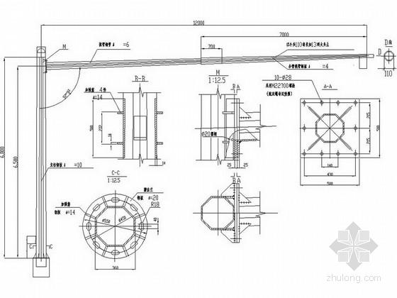 [浙江]城市主干道智能交通工程施工图设计36张(电子警察 信号灯)