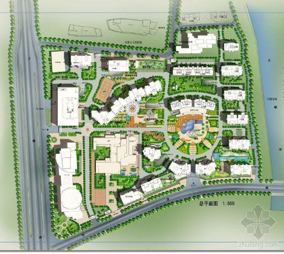 杭州花园小区全套景观设计投标文本(二)