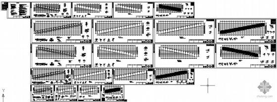 某大排档超轻钢龙骨钢结构设计图