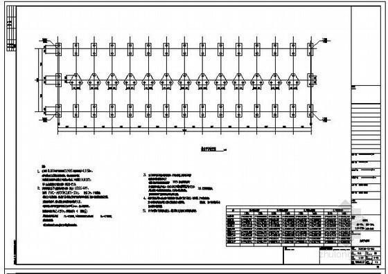 某仓储物流包装车间结构设计图