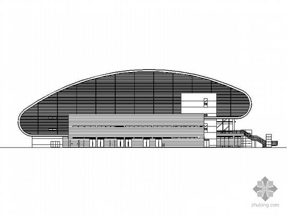 [澳门]某大学体育馆建筑施工图