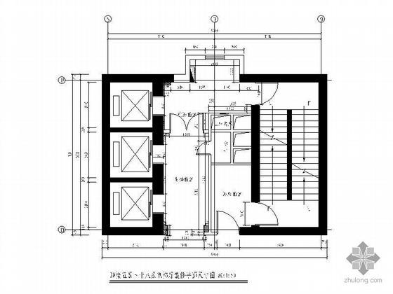 电梯厅装修设计图