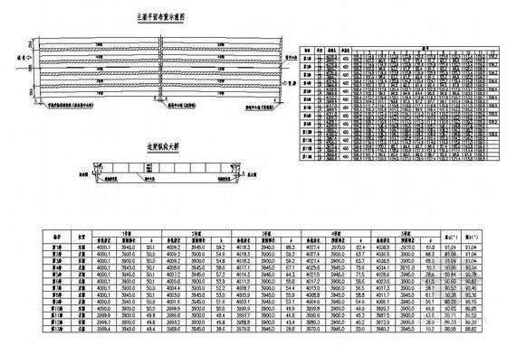 预应力钢筋混凝土T梁主梁平面布置节点详图设计
